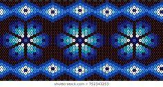 Huichol Art, Mexican People, Native Beading Patterns, Bead Crochet Rope, Safari Party, Christmas Clipart, Vector Pattern, Hama Beads, Diy Art