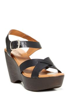 Callisto of California Melisa Wedge Sandal