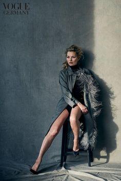 "Modestrecke ""Natural Beauty"": Von Peter Lindbergh inszeniert: Kate Moss, Irina Shayk und Lara Stone - VOGUE"