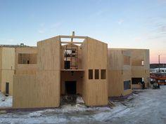 Ecole primaiire Nation Long-Pointe, Winneway Entrepreneur, Wood Construction