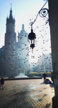 Kraków | Tumblr - maybe this should have gone under photography? Fantastic shot!