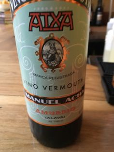 A little Spanish vermouth at Vera Chicago