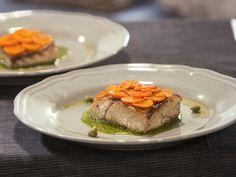 Бон Апети Костур с моркови и зелен сос