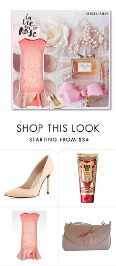 all things girly by valc5 liked on polyvore featuring la vie en rose stuart weitzman anna sui and giorgio armani