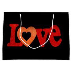 Love Sign Large Gift Bag