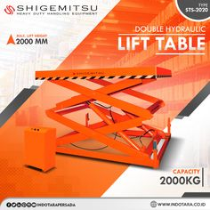 Shigemitsu Double Hydraulic Lift Table #indotara #ptindotarapersada #indotarapersada #ptindotara #shigemitsu #gudang #semielectric #handlift #peralatanindustri #handstacker #lifttables #gudang #lifttable #heavyduty #handlingequipment #warehouseequipment #warehouseequipments #juallifttablejakarta #juallifttablebandung #juallifttablemedan #juallifttablesurabaya #juallifttablesemarang