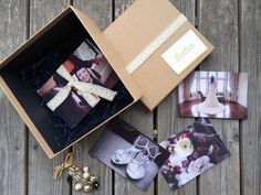 LeeLou Wedding Photography Gift Box - Vintage Lace Collection