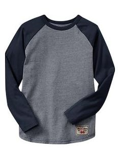 Long-sleeve raglan T | Gap  Love these as well!
