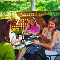 Grab your girls and go...And Have Lunch...And Lots of Wine & Laughs...For Years and Years!!