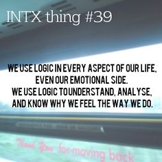 All things related to INTJ and INTP, including the INTX thing series, INTX of the day, and INTX...