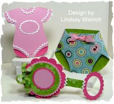 baby cards ....ooooh, nappy might be a goer for the card swap. Must check size!