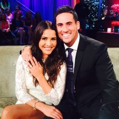 Andi Dorfman and Josh Murray -   The Bachelorette's tenth season aired in 2014 and featured the star Andi Dorfman rejecting Nick Viall and selecting Josh Murray.  Andi and Josh got engaged during the July 2014 finale but they announced their break up in early January 2015.  Andi is currently living in New York and appears to be single.