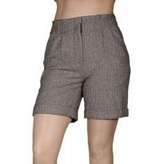 Pantaloni Scurti Dama VERO MODA Tweedy Highwaisted Gym Men, Fashion, Elegant, Fashion Styles, Moda, Fashion Illustrations