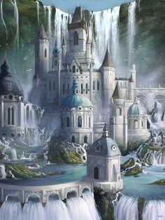 Medieval Mythical Fantasy Castle 3