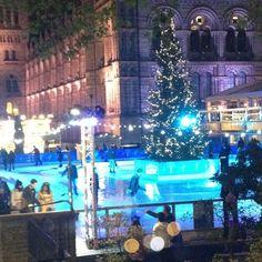 Twitter / LeilaHamidGreen: @NHM_London Beautiful ice rink! ...