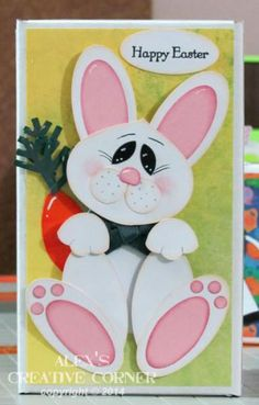 Sweet Bunny by punch-crazy - Cards and Paper Crafts at Splitcoaststampers