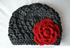 I made up this pattern a few winters ago after a failed attempt to replicate a crocheted beanie/toque I'd found at Nordstrom Rack, made by some fancy jeans company - Seven for all mankind or lucky ...