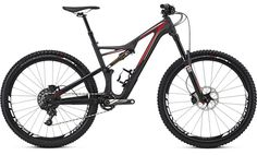 """FEATURES If your idea of trail riding follows the philosophy of """"go big or go home,"""" you simply can't beat the agility and responsiveness that a 650b provides. Knowing this, we built our Stumpjumper F"""