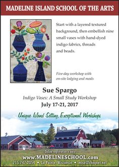 Sue Spargo. Folk Art Quilt Quilting Ribbons Supplies Hand Dyed Velvet Wool Electric Quilt CD For Sale in Ohio