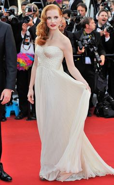 Old Hollywood from Jessica Chastain's Best Looks | E! Online