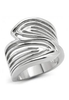 Wide Top Leaf Wrap Silver Stainless Steel Ladies Ring New Pinky Rings For Women, Rings For Girls, Rings For Men, Best Engagement Rings, Designer Engagement Rings, Rose Gold Band Ring, Tiffany Rings, Vintage Gold Rings, Sterling Silver Wedding Rings