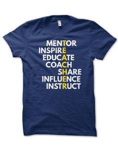 If you're a teacher, you know that teaching means not only guiding your student through the process of discovery, you must also be a mentor to help inspire creativity and educate each individual. Teaching Outfits, Teaching Tips, Teaching Clothes, Mentor Teacher Gifts Student Teaching, Team Teaching, Teaching Secondary, Math Teacher, Learning Resources, Teacher Wardrobe