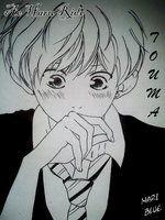 Touma Kikuchi (Ao Haru Ride) by MariChou-Chan (me)