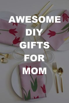 Show her you care by creating a DIY gift from scratch. Diy Gifts For Mom, Diy Mothers Day Gifts, Mother Gifts, Handmade Gifts, Handmade Items, Mother's Day Diy, Kids Shows, Some Ideas, Things To Come