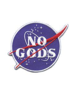 No Gods Patch – Strange Ways #nogodsnomasters #nogods #nomasters #patch #atheist