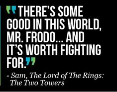 Lord of the Ring Quote