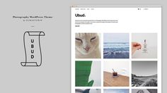 Ubud Premium WordPress theme for Photography