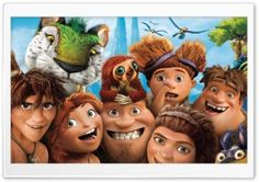 The Croods Characters HD Wide Wallpaper for Widescreen