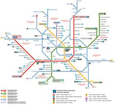 Rome Metro Map With Attractions.Rome Metro Map Pdf Google Search Places I D Like To Go In 2019