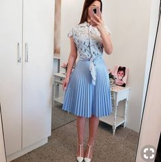 Ideas Fashion Outfits Women Petite For 2019 Modest Wear, Modest Dresses, Modest Outfits, Skirt Outfits, Modest Fashion, Chic Outfits, Trendy Outfits, Dress Skirt, Casual Dresses