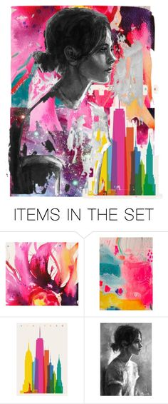 """""""the city"""" by karen-lynn-rigmarole ❤ liked on Polyvore featuring art"""
