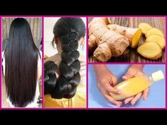 How to get Long Hair, Soft Hair, Smooth Hair and Healthy Hair with Ginger - Magical Remedy - Long Hair Growth Tips Extreme Hair Growth, Hair Growth Tips, Hair Remedies For Growth, Hair Growth Treatment, Hair Loss Cure, Prevent Hair Loss, Hair Regrowth, Soft Hair, Hair Loss Treatment