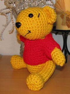 Crocheted Pooh Bear