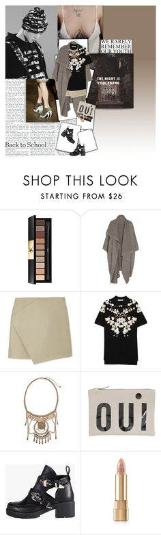 """""""""""It's okay, we take our time"""""""" by fruitmachine ❤ liked on Polyvore featuring Yves Saint Laurent, STELLA McCARTNEY, Carven, Givenchy, BP., Clare V., Refresh and Dolce&Gabbana"""