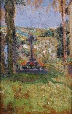 Walter Sickert - Chagford Churchyard