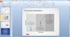 Free S-Curve PowerPoint Template - Free PowerPoint Templates - SlideHunter.com