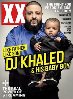 0158e64bee20 Inside - DK Khaled and Asahd Khaled cover  XXL Magazine  Asahd Tuck Khaled