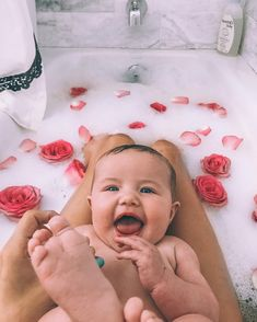 """68.7k Likes, 1,009 Comments - AMBER FILLERUP CLARK (@amberfillerup) on Instagram: """"She lovvvves bath time ☺️ me too girl. I'm a - light every candle - turn off the lights - bath…"""""""