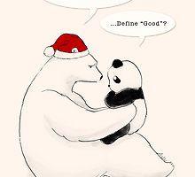 «A Good Bear» de Panda And Polar Bear