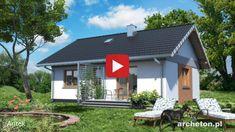 Projekt domu Antek - dom parterowy, z dwoma pokojami, idealny dla 3 osobowej rodziny ceramika - Archeton.pl Outdoor Decor, Home Decor, Decoration Home, Room Decor, Interior Decorating