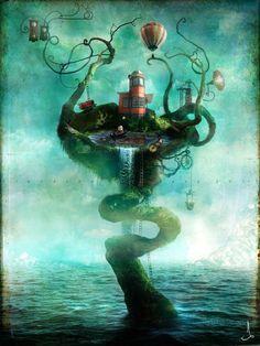 Mystical Illustations by Alexander Jansson  <3 <3