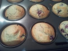 Berry Muffins | ChooTheFat's Thermomix Adventures