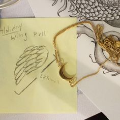 ALEX AND ANI Angel Wing sketch