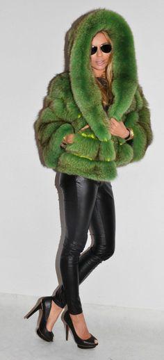 Royal Saga FOX FUR Coat Jacket Fuchs Pelz WIE Zobel Sable Mink Nerz Chinchilla   eBay