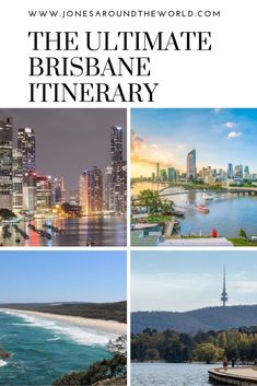 The Ultimate BRisbane Itinerary // Jones Around The World -- Ocean Photography, Travel Photography, Photography Tips, Australia Tourist Attractions, Working Holiday Visa, Australia Travel Guide, Vacations To Go, Brisbane, Sydney