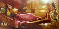 Indian Classic Art Paintings - Angelslover - The Entertainment Website